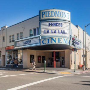 PIEDMONT USA - Jan. 7, 2017: Piedmont Historic Movie Theatre in
